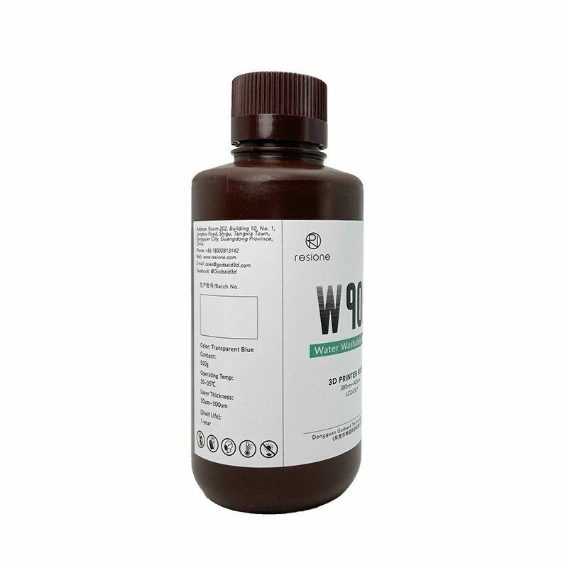 Resin Liquid For 3D Printer Washable Anti UV LCD SLA DLP Elegoo Phrozen Anycubic