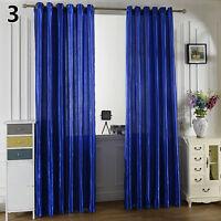 Solid Window Room Panel Shade Curtain Drape Blind Valance Home Decor Amusing