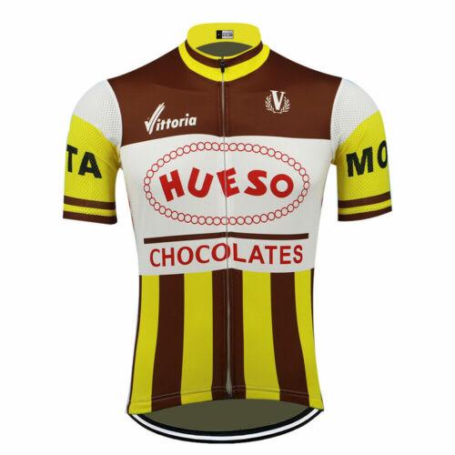 Brand New Retro Team Hueso Chocolates Cycling Jersey