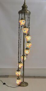 Turkish Moroccan Style Floor Lamp With