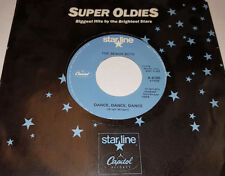THE BEACH BOYS Warmth Of The Sun/ Dance Dance 45 Blue Starline Capitol X-6105 EX