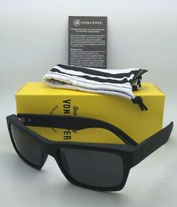 8172ce3559 Image is loading VONZIPPER-Sunglasses-VZ-FULTON-Matte-Black-Satin-Frames-