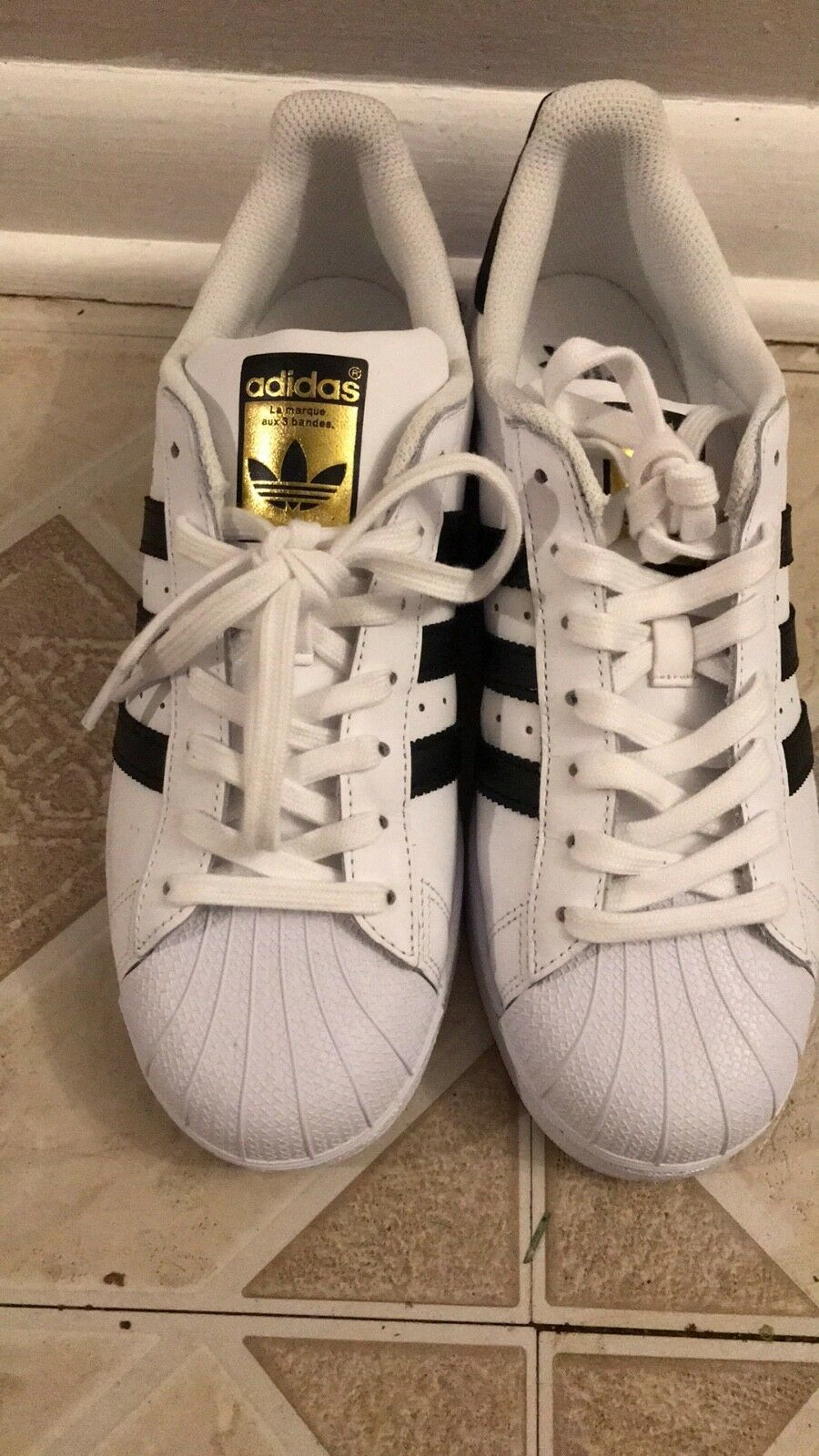 adidas Superstar Shoes Men's White 11.5 WORN ONCE! Cheap women's shoes women's shoes