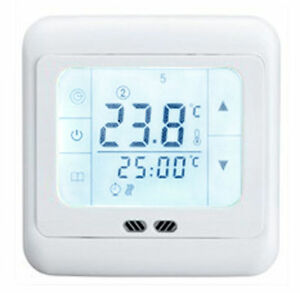 raumthermostat digital touchscreen thermostat. Black Bedroom Furniture Sets. Home Design Ideas