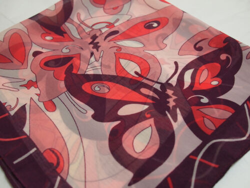 Chic /& sleek elegant polyester chiffon square scarf,muffler,shawl,neckerchief