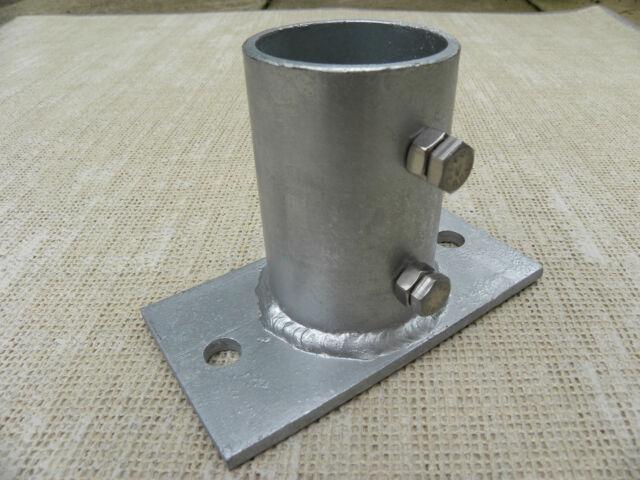 "Antenna Mast Ground Socket 2.5"" (BE213)   Antenna Engineering   Ham Radio"