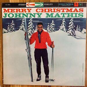 JOHNNY-MATHIS-MERRY-CHRISTMAS-WITH-PERCY-FAITH-VINYL-LP-COLUMBIA-CS-8021-EXC-2