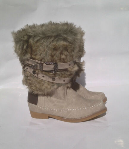 Zapatos Stivali Scarpe Pelliccia Donna Botas Stiefel Boots Stivaletti Indianini nwOf8Rqxn1