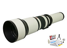 Opteka 650-1300mm Telephoto Lens for Nikon D4 D3X D800 D7000 D5100 D3200 D3100