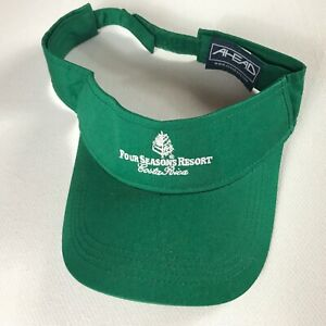 Four-Seasons-Resort-Visor-Costa-Rica-Adjustable-Golf-Hat-Green-Mens-Adult-Sun