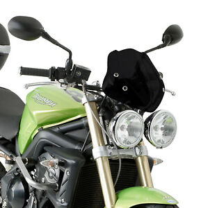 Motorcycle Windshield Wind Deflectors For Ducati Streetfighter 848 1098 S 09-18