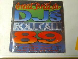 Great-British-Reggae-DJ-039-s-amp-Singers-Roll-Call-039-89-Various-Artists-Vinyl-LP-1990