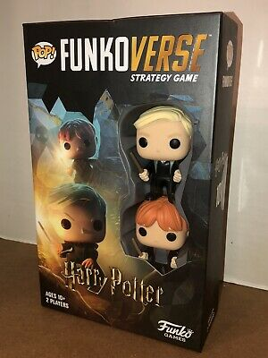 New Pop Funkoverse Strategy Game Harry Potter 101 W Draco Malfoy