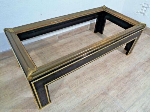 Jugendstil Mobiliar Tisch Bronze Messing Holz Schellack table couch Salon 140cm