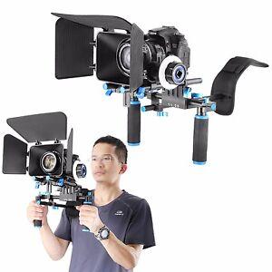 NEWEER-DSLR-Rig-Kit-Shoulder-Mount-Rig-with-Camera-DV-Follow-Focus-and-Matte-Box