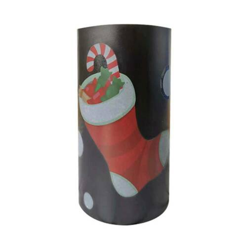 Xmas Sliding Wrapping Paper Cutter Present Wrap Pack Roll Tool Christmas  xhl