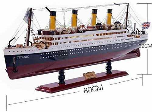 Le RMS Titanic 1 350 (80 cm) - Maquette du Paquebot Transatlantique - Bateau