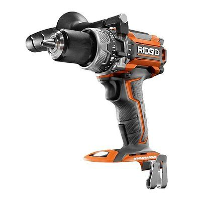 "New Ridgid R86116 18-Volt Lithium-Ion Cordless Brushless 1/2"" Hammer Drill"