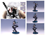 Anime-Naruto-Shippuden-Dark-part-Kakashi-PVC-Action-Figure-Figurine-Toy-Gifts thumbnail 1