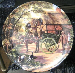 Gorgeous Royal Doulton Decorative Plate The Grocer 6418a ltd edition - Newent, Gloucestershire, United Kingdom - Gorgeous Royal Doulton Decorative Plate The Grocer 6418a ltd edition - Newent, Gloucestershire, United Kingdom