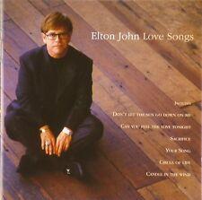 CD - Elton John - Love Songs - #A3432