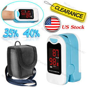 Finger-Pulse-Oximeter-Blood-Oxygen-Saturation-SPO2-Heart-Rate-O2-Patient-Monitor