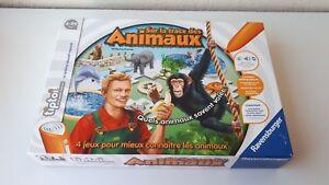 Jeu Interactif Tiptoi Sur La Route Des Animaux Complet En Boite 4 99 Ans Ebay