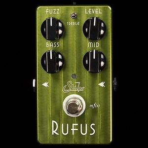 new suhr effects rufus fuzz pedal for guitar bass vintage modern tone ebay. Black Bedroom Furniture Sets. Home Design Ideas