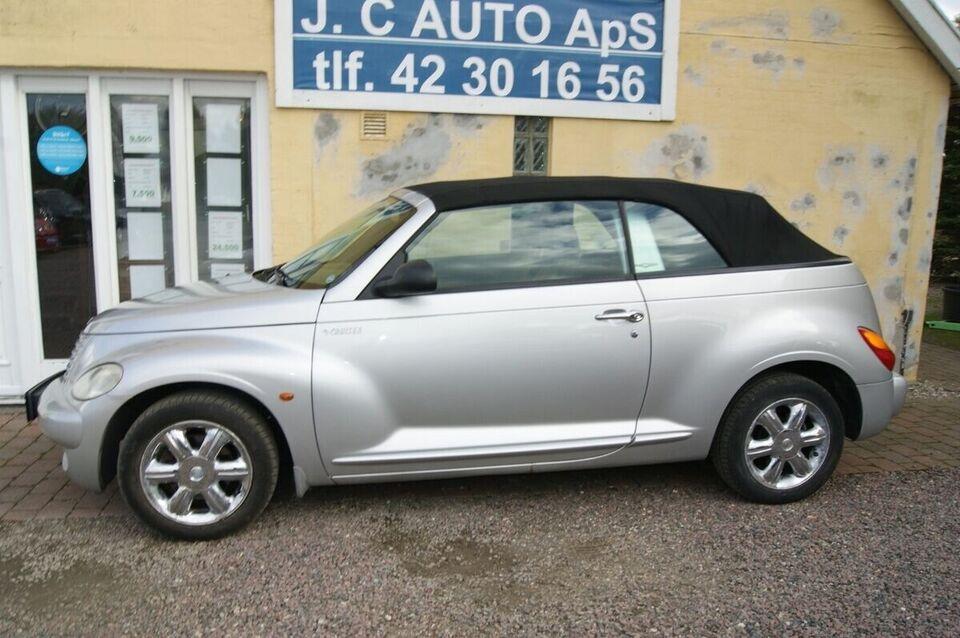 Chrysler PT Cruiser 2,4 Limited Cabriolet Benzin modelår