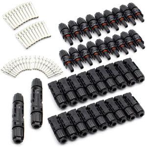 20 paires MC4 Mâle Femelle M-F Wire Câble Connecteur Suite Panneau Solaire 30A J9koHsVQ-07141333-523996595