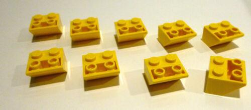 incliné pierres jaune négatif invers 2x2//45 ° 9 X LEGO ® 3660 réfractaire