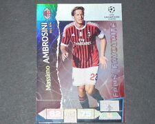AMBROSINI MILAN AC UEFA PANINI CARD FOOTBALL CHAMPIONS LEAGUE 2011 2012