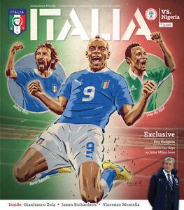 ITALY-v-NIGERIA-2013-FRIENDLY-INTERNATIONAL-MINT-PROGRAMME