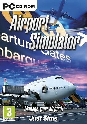 AIRPORT SIMULATOR for PC SEALED NEW