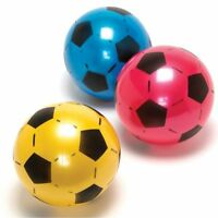 Sale 120 Plastic Footballs 8 Flat Packed Un-inflated