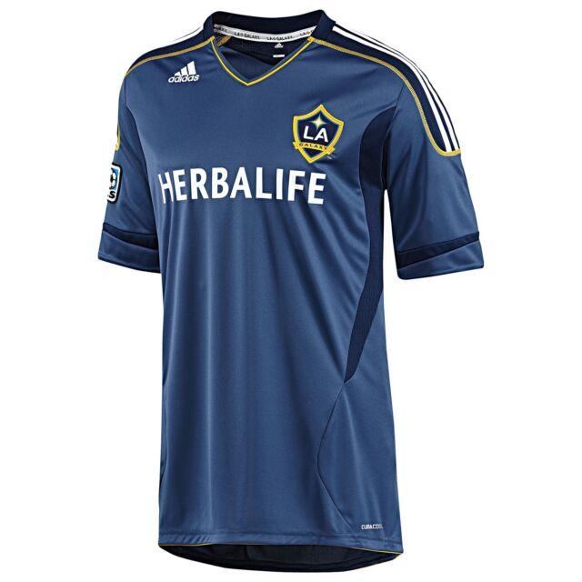 c4b825821 nwt-Adidas LOS ANGELES LA GALAXY Soccer Jersey MLS USA Football Shirt~Men Sz