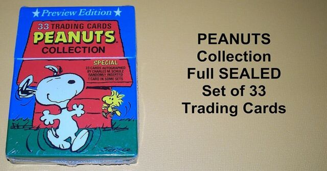 PEANUTS Collection Complete Card Set - Snoopy - Charlie Brown - SEALED!!!!