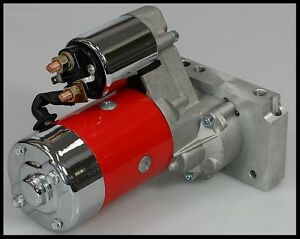 sbc bbc chevy high torque mini starter 3hp red jm-7001-r ... chevy high torque starter wiring diagram chevy truck floor starter wiring diagram