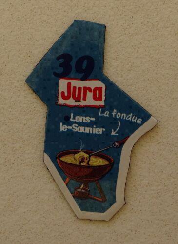 39 JURA AUTRE COULEUR MAGNET LE GAULOIS CARTE NEW COLLECTION DEPARTAIMANT