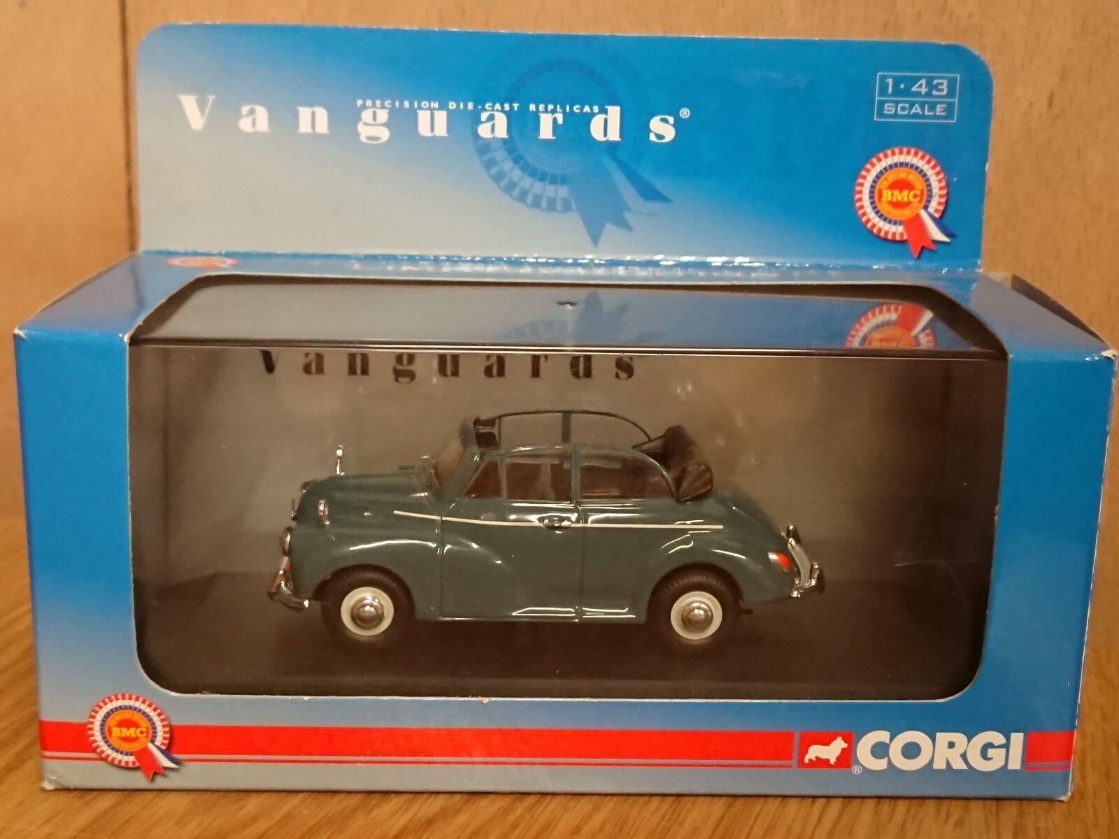 Corgi VA07103 Morris Minor Congreenible Clipper bluee Ltd Edition No. 0002 of 2860