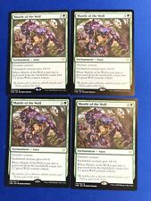 X4 Theros Beyond Death MTG  Mantle of the Wolf Magic The Gathering