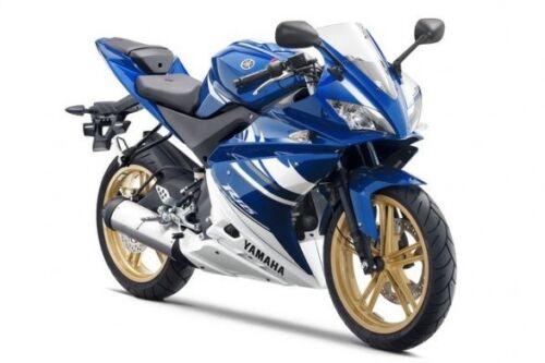 "Yamaha YZF R125 GRIMECA 17/"" Gold rear wheel rim 2008 to 2013"
