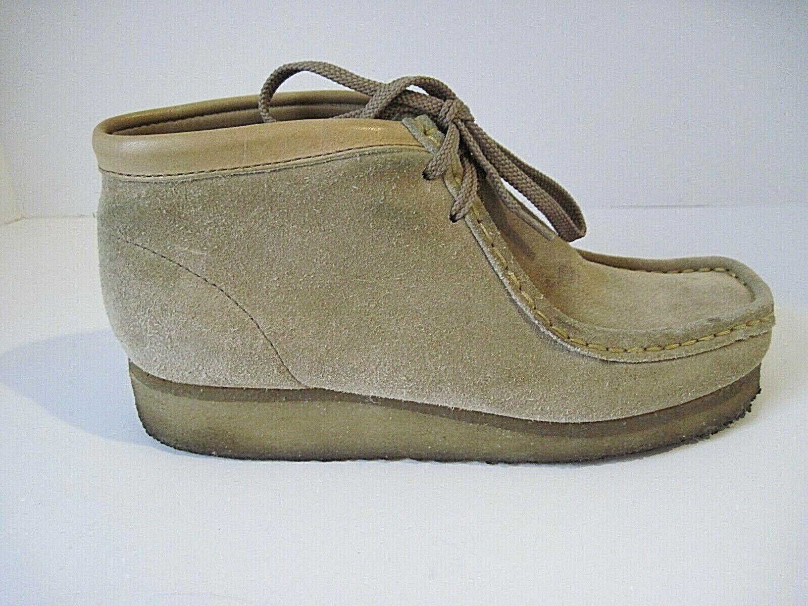 Prezzo al piano Clarks Originals Wallabee Sand Suede Crepe Crepe Crepe Sole Desert scarpe Donna  Dimensione 6M  senza esitazione! acquista ora!