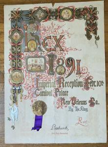 Mardi-Gras-Rex-Krewe-Ball-1891-Imperial-Reception-Feb-10th-Poster-Invitation