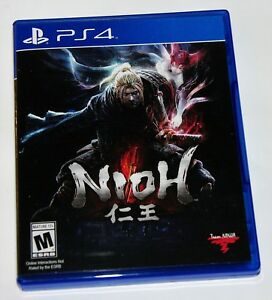 Details about Replacement Case (NO GAME) Nioh Playstation 4 PS4 Box