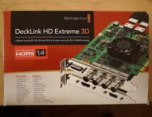 Blackmagic DeckLink HD Extreme 3d