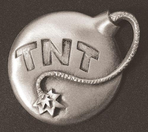Guitar Pewter TNT Bomb Dash Plaque Rock /& Roll Rat Rod Emblem #17