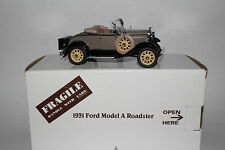 Danbury Mint 1931 Ford Model A Deluxe Roadster Coupe 1:24 Scale Diecast