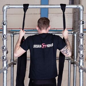 Details about Ninja Sling Grip Training Straps | Pull ups | Chin Ups |  Suspension trainer