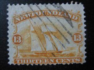 NEWFOUNDLAND-Sc-30-scarce-used-stamp-SCV-95-00
